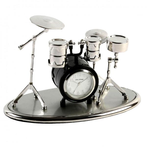 Miniature Clock - Drum Kit