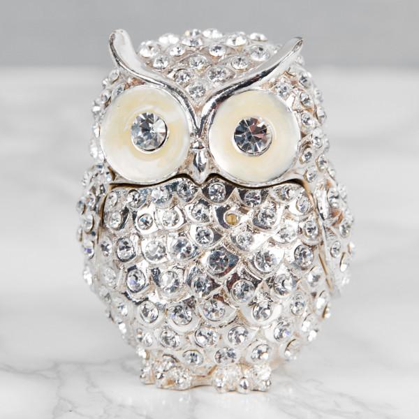 Treasured Trinkets - Crystal Owl