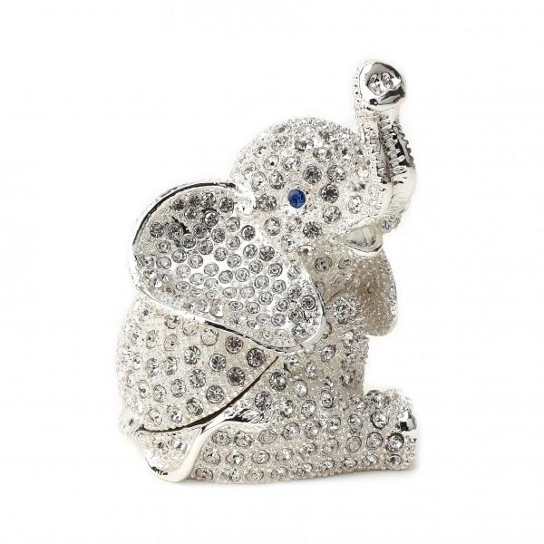 Treasured Trinkets - Crystal Elephant
